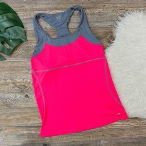 Champion hot pink workout tank top
